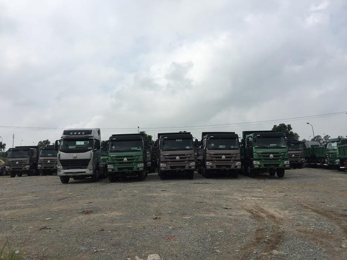Đại lý nhập khẩu và phân phối các loại xe tải howo tại Hà Nội